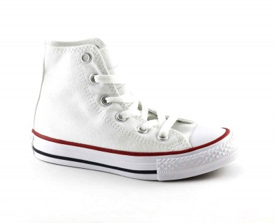 CONVERSE 3J253C white bianco scarpe sneakers alte all star unisex