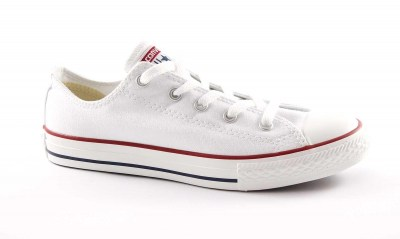 CONVERSE M7652C white bianco scarpe sneakers all star basse unisex