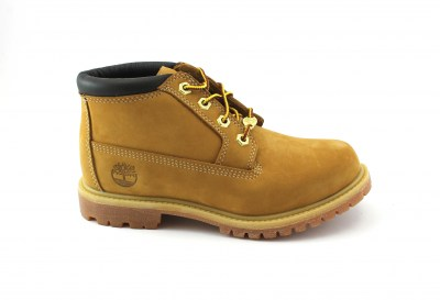 TIMBERLAND 23399 yellow giallo scarpe donna scarponcini pelle waterproof prem nellie wheat lacci