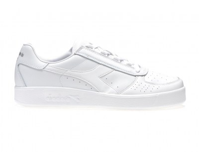 DIADORA C4701 B.ELITE white optical bianco scarpe donna sneakers pelle