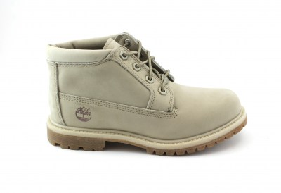 TIMBERLAND A1NDR double pure cashmer beige scarpe donna scarponcini mid pelle waterproof