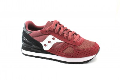 SAUCONY S1108-698 SHADOW ORIGINAL bordeaux scarpe donna sneakers