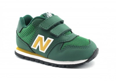 NEW BALANCE IV500 YG green verde scarpe bambino strappo sneakers