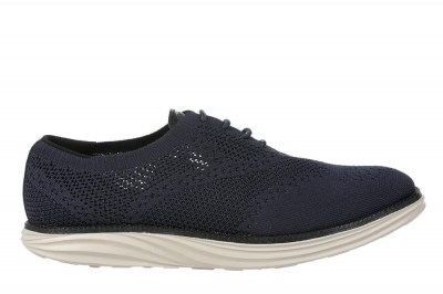 MBT 700972-12H BOSTON WT M-KNIT W navy blu scarpe donna tessuto
