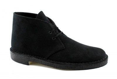 CLARKS ORIGINALS 26138768 DESERT BOOT G Fit navy suede scarpe uomo polacchini