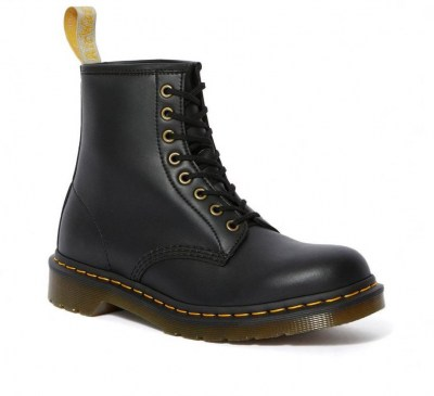 DR MARTENS VEGAN 1460 FELIX RUB OFF anfibio Uomo 8 buchi lacci waterproof vegan shoes