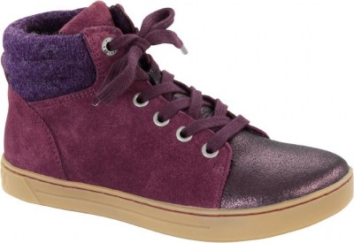 Birkenstock 1007215 Bartlett Kids plum, Suede Leather Viola