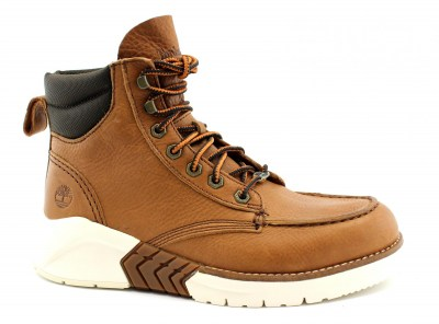 TIMBERLAND A2C4G brown marrone scarpe uomo scarponcini light lacci