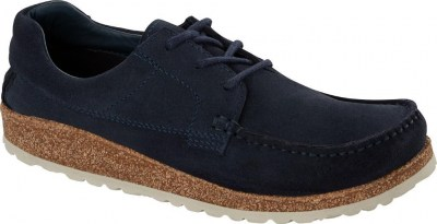 Birkenstock 1016154 Sacramento Men navy, Suede Leather Blu