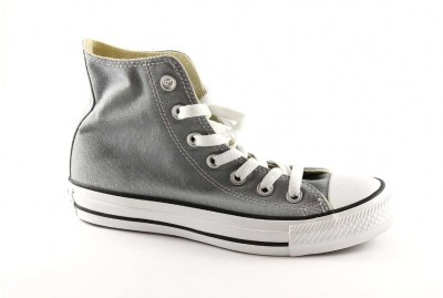 CONVERSE 3J793 YOUTHS Charcoal grigio scarpa alta tessuto