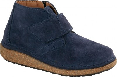 Birkenstock 1017848 Milton Kids navy, Suede Leather Blu