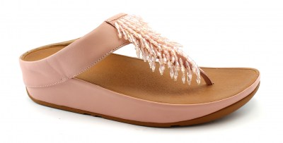 FITFLOP RUMBA DUSKY PINK K26-535 rosa ciabatte infradito donna strass