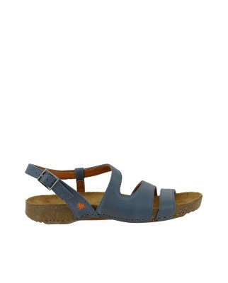 Art Company 1003 MEMPHIS ARTIC /I BREATHE Sandals Woman Blue Buckle