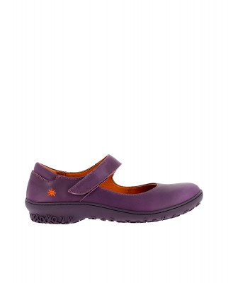 Art Company 1420 GRASS PURPLE/ ANTIBES Ballerinas Woman Lila Velcro