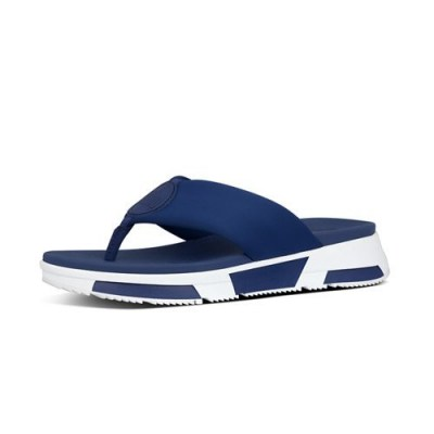 Fitflop SPORTY LOGO TOE THONGS - MIDNIGHT NAVY