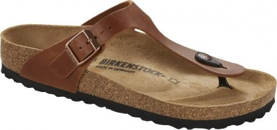 Birkenstock 1016781 Gizeh antique brown, Oiled Leather Marrone