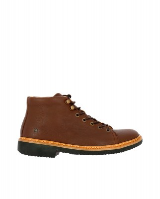 El Naturalista NG32 SOFT GRAIN BROWN / YUGEN Stivaletto Uomo Marrone Pizzi